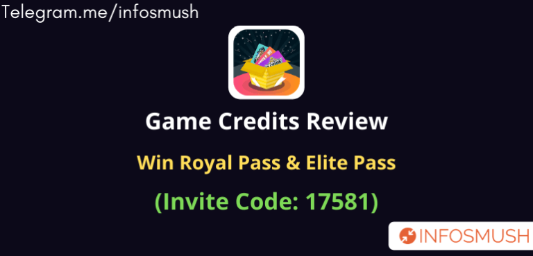 Game Credits Referral Code | Apk Download | Review