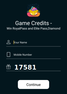 game credits referral code