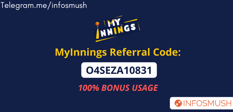 my innings referral code