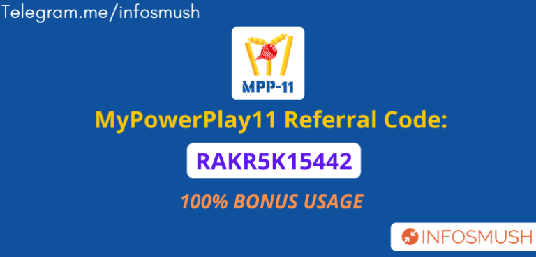 MyPowerPlay11 Referral Code | Apk Download | Review