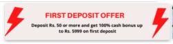 myfab11 deposit offer