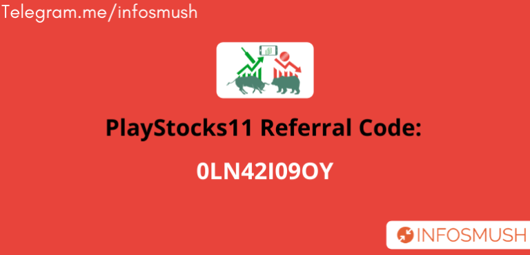 PlayStocks11 Referral Code | ₹50 + ₹11 Deposit Cash on Sign up | Apk Download