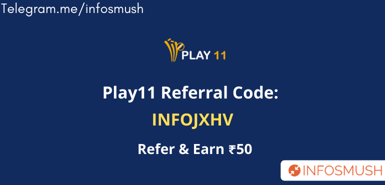 play11 refer code