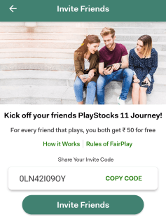 play stocks 11 invite code