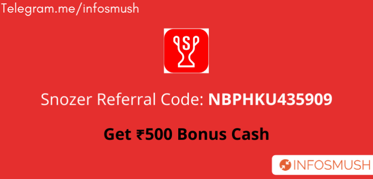 Snozer Referral Code | Apk Download | Review