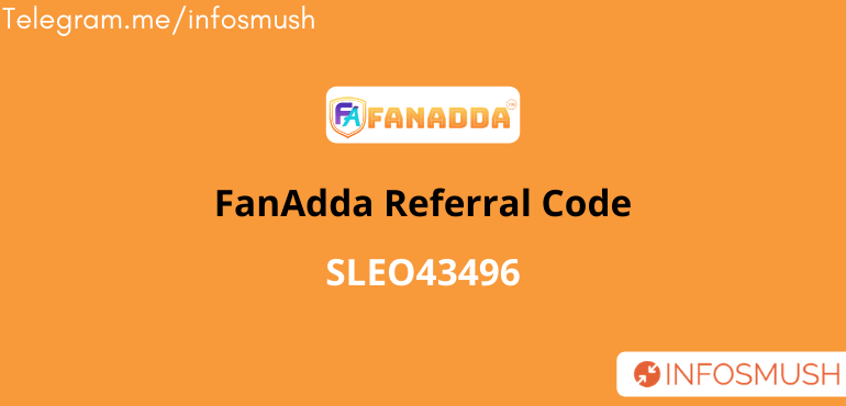 FanAdda Referral Code | Get ₹50 | Apk Download
