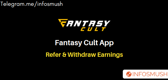 Fantasy Cult Referral Code | Apk Download | 3% Referral Income
