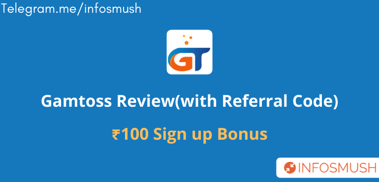 Gamtoss Referral Code | Apk Download | Review