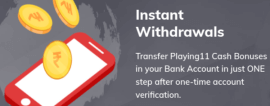 playing 11 withdrawal