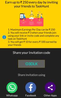 task hunt referral code