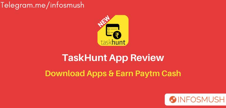 Task Hunt Referral Code | Apk Download | Refer & Earn ₹250