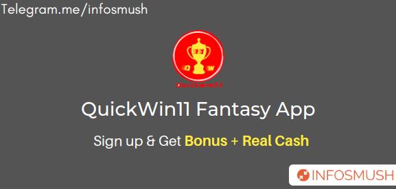QuickWin11 Referral Code | Apk Download | Get Real Cash Bonus