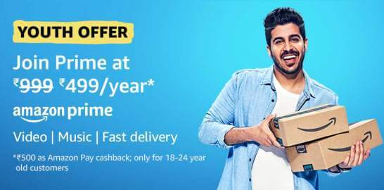 How to Get Amazon Prime at Rs.499/Year (2021)