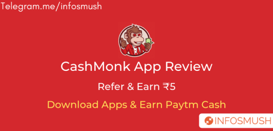 CashMonk Referral Code | Apk Download | Review