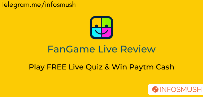 FanGame Live Apk Download | Referral Code |  Play Quiz win Money