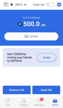 ziktalk refer and earn