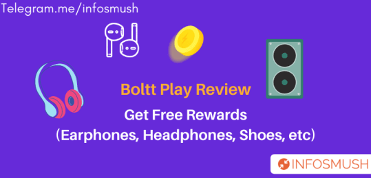 Boltt Play Referral Code: Earn Free Rewards(Earphone, Bluetooth Speaker)