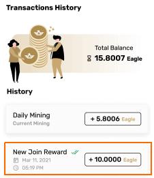 eagle network joining bonus