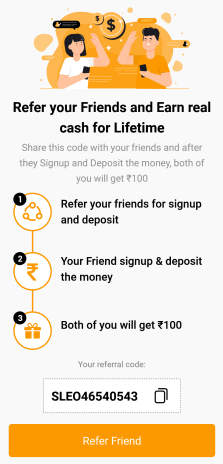 Achieve 11 Refer Code | Apk Download | ₹100 Bonus