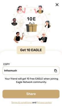 eagle network invite users