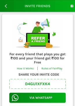 big fan 11 referral code
