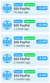 payment proof 2021