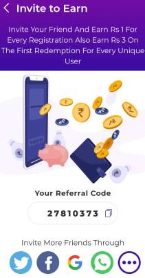 instaearn referral code