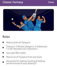 how to play fantasy cricket