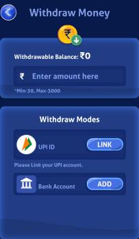 withdraw money