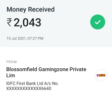 sportasy payment proof