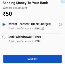 instant transfer bank