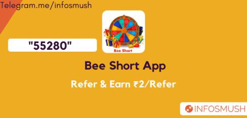 bee short referral code 2021