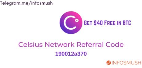 celsius network referral code 2021