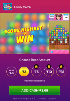 candy crush money earning game