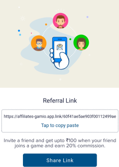 igamio refer and earn