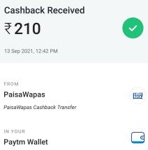 paisawapas payment proof