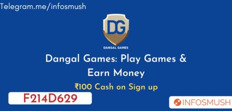 Read more about the article Dangal Games Referral Code: Get ₹100 Bonus | Apk Download