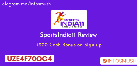 Read more about the article SportsIndia11 Referral Code: Get ₹200 Bonus| Apk Download